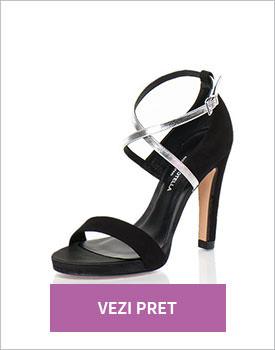 Sandale negre Roberto Botella