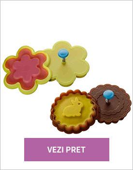 Set 2 forme prajituri Flower Stamp