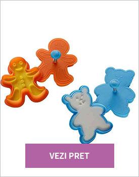 Set 2 forme prajituri Gingerbread Stamp