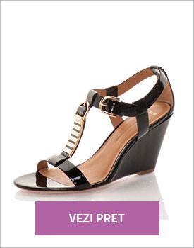 Sandale negre Aerin