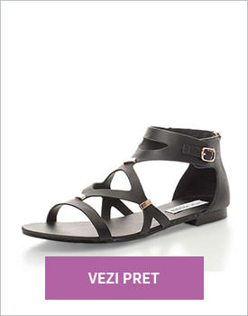 Sandale negre Steve Madden
