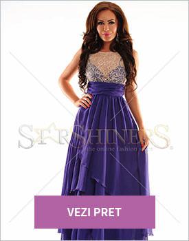 Rochie Royal Crossing purple