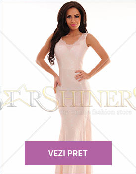 Rochie LaDonna Galactic Beauty rosa