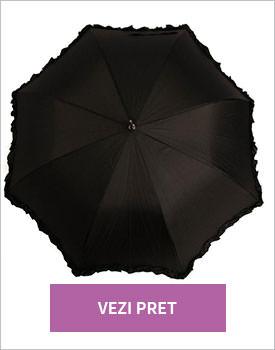 Umbrela Black Lace