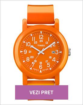 Ceas Timex Camper portocaliu