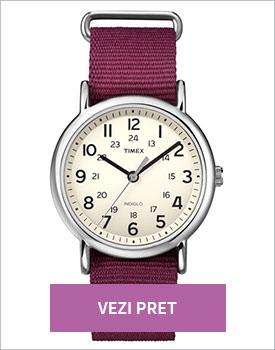 Ceas Timex Weekender pruna