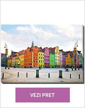 Tablou Wroclaw City center