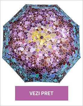 Umbrela Mozaic Purple