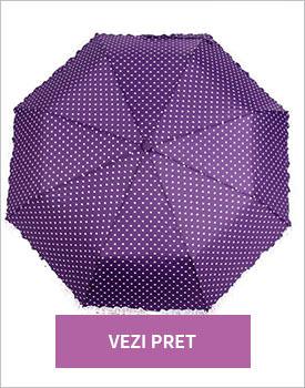 Umbrela Purple Hearts