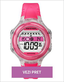 Ceas Timex Marathon roz intens