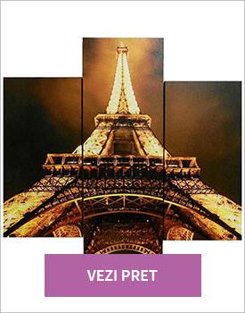Set 3 tablouri Eiffel Tower