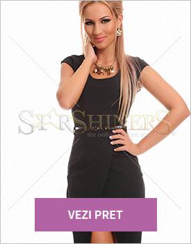 Rochie Prettygirl Verdancy negru