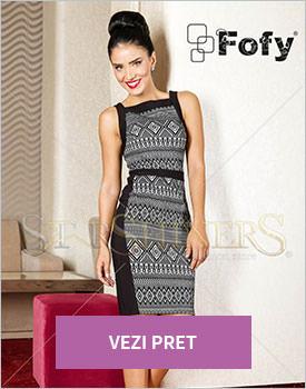 Rochie Fofy Fashion Diary negru