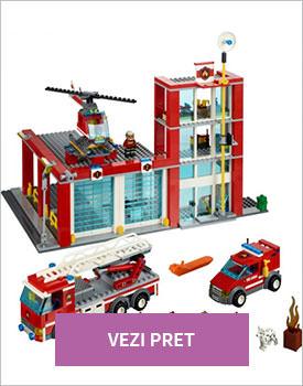 Lego city Statie pompieri