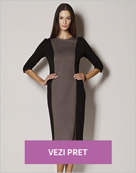 Rochie midi negru