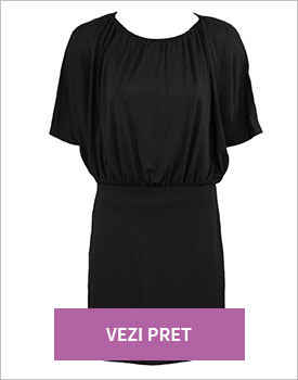 Rochie Vero Moda Basic negru