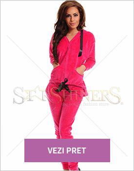 Set MissQ Velvet Trap roz