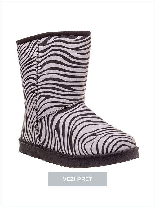 Cizme dama Jungle zebra