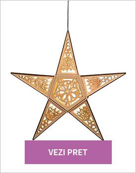 Decoratiune Gold star