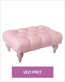 Taburet Annabelle stripes of pink