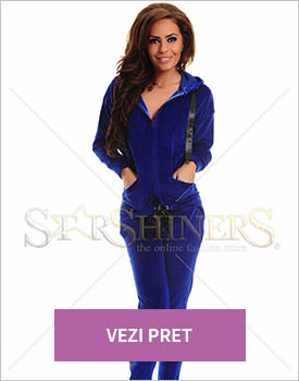 Set MissQ Velvet Trap albastru