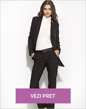 Pantaloni eleganti negru