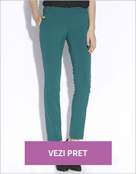 Pantaloni Nissa verde