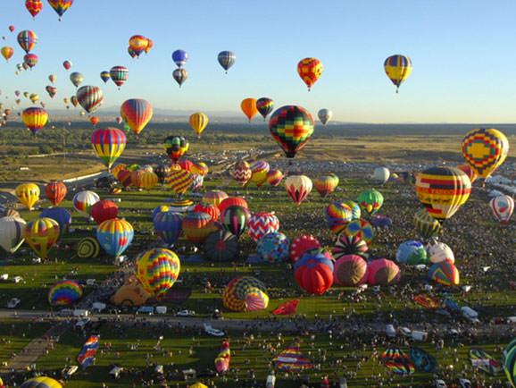 Festivalul de baloane cu aer cald