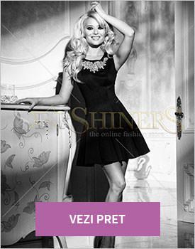 Rochie Mexton Classy Princess negru