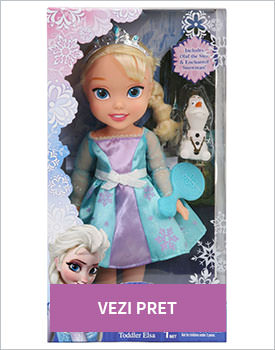 Disney Frozen set Papusa toddler Elsa si Olaf