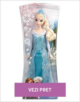 Papusa Elsa stralucitoare