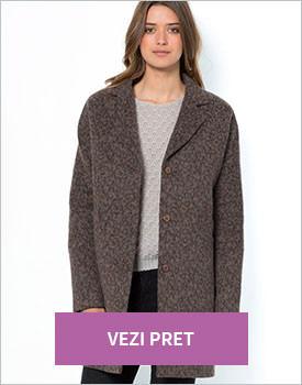 Palton Soft Grey femei