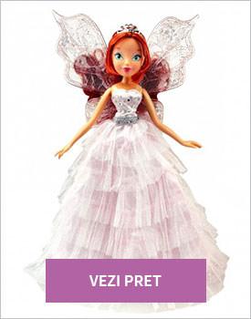 Papusa Winx Bloom Pink Princess