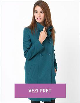 Palton R Edition verde-albastru