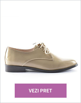 Pantofi Prando bej