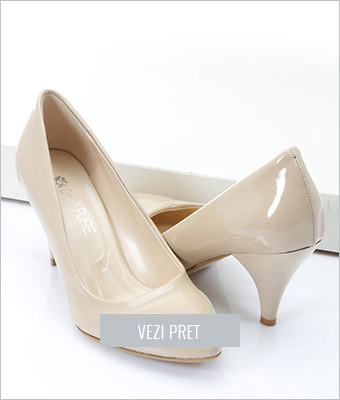 Pantofi Demi Pure bej