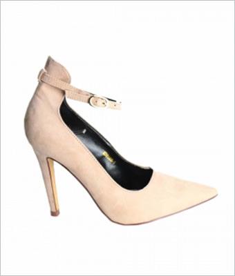 Pantofi stiletto Tulipano bej