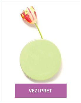 Vaza de perete Dot green