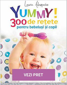 Yummy 300 de retete pentru-bebelusi si copii