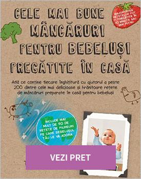 Cele mai bune mancaruri pentru bebelusi pregatite