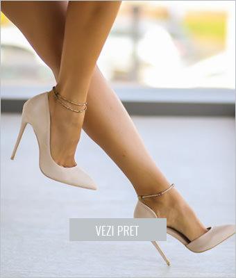 Pantofi Bizar bej