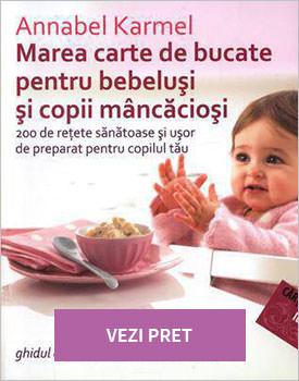 Marea carte de bucate pentru-bebelusi si copii mancaciosi