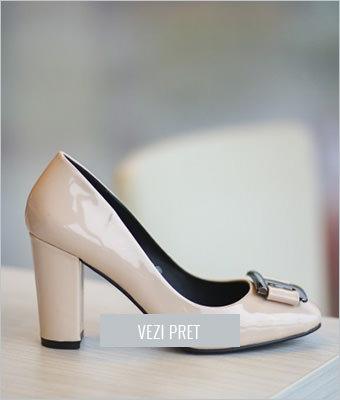 Pantofi Gadaf nude