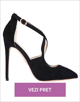 Pantofi Loulou negru