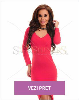 Rochie Starshiners Sensual pink
