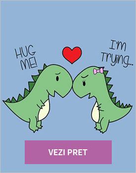 Tricou TRex love