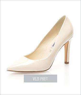 Pantofi bej deschis Francesco Milano