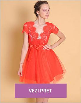 Rochie dantela Red Princess