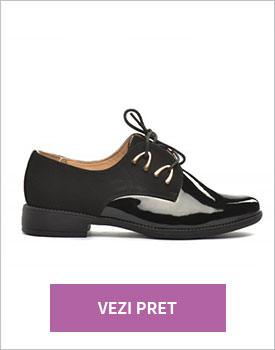 Pantofi Osho negri