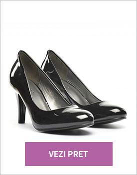 Pantofi Figo negri